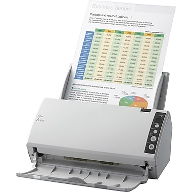Fujitsu fi-6110 Color Duplex Desktop Document Scanner, 600 dpi