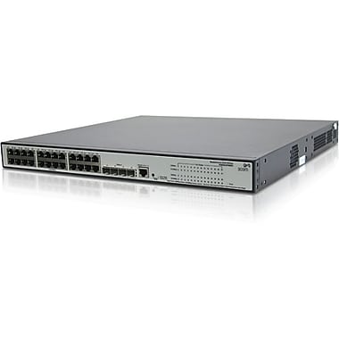 HP® Smart Buy 1910 365W Managed Gigabit PoE Ethernet Switch, 24 Ports
