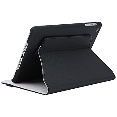 V7® Slim Rotating Case With Stand For iPad Mini, Black
