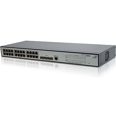 HP® Smart Buy 1910 Managed Gigabit Ethernet Switch, 24 Ports