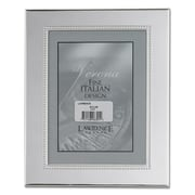 Lawrence Frames Contemporary Metal Picture Frame; 5'' x 7''
