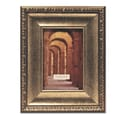 Lawrence Frames Champagne Picture Frame in Bronze; 4'' x 6''
