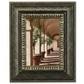 Lawrence Frames Traditional Carved Inner Edge Picture Frame; 5'' x 7''