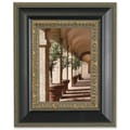 Lawrence Frames Composite Carved Inner Edge Picture Frame; 8'' x 10''