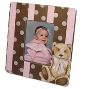 Lexington Studios Children and Baby Cocoa Cabana Decorative Picture Frame; Pink