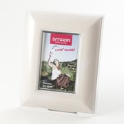 Omada Glamour 4'' x 6'' Picture Frame; Ivory