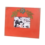 Wilco Tabletop Easel Picture Frame; Bright Chinese Red