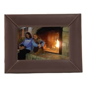 Dacasso 4x6 Photo Frame; Chocolate Brown