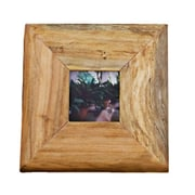 Dekorasyon Reclaimed Wood Picture Frame; Small