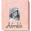 Forest Creations Adorable Picture Frame; Bright Pink