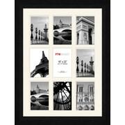 Pro Tour Memorabilia Photo Collage Picture Frame; Black