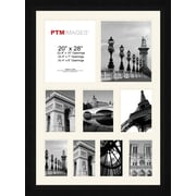 PTM Images Photo Collage Picture Frame; Black