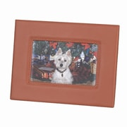Royce Leather Royce Leather Deluxe Picture Frame; Tan
