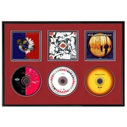 That's My Ticket Triple CD Picture Frame; Red
