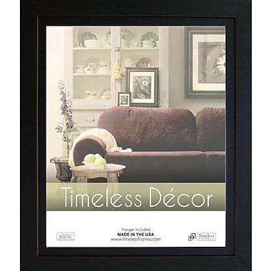Timeless Frames Studio Black Solid Wood Picture Frame; 16'' x 20''