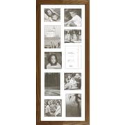 Timeless Frames Decorator's Choice Collage Ten Photo Frame; Natural Oak