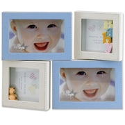 Lawrence Frames Multi Opening Picture Frame; Blue