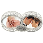 Malden Double Wedding Ring 2-Opening Picture Frame