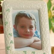 Belleek Belleek 5X7 Shamrock Picture Frame