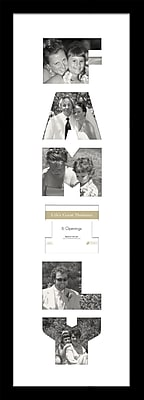 Timeless Frames Life's Great Moments Family Collage Photo Frame WYF078276700859