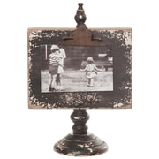 Wilco Home Shabby Elegance Clipboard Tabletop Picture Frame; Black