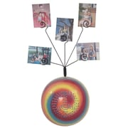 Metrotex Designs Girly Chic Tie Dye Peace Sign Wall Photo Bubble; Red