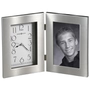 Howard Miller Lewiston Tabletop Clock with Picture Frame