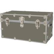 Rhino Trunk and Case Medium Armor Trunk; Silver