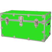 Rhino Trunk and Case Medium Armor Trunk; Neon Green