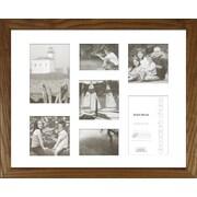 Timeless Frames Decorator's Choice Collage Seven Photo Frame; Natural Oak