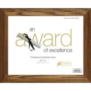 Timeless Frames Englewood Document and Award Frame; Honey