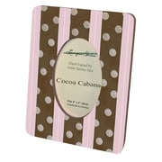 Lexington Studios Children and Baby's Cocoa Cabana Small Picture Frame; Pink