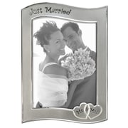Malden Just Married Stamping Picture Frame