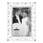 Malden Diamond Hearts Picture Frame; 4'' x 6''