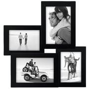 Malden Collage Picture Frame; Black