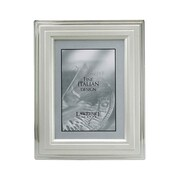 Lawrence Frames Stepped Border Picture Frame; 4'' x 6''