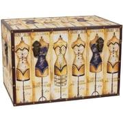Oriental Furniture Mannequin Storage Trunk