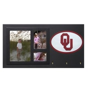 Fan Creations NCAA Key Holder w/ Picture Frames; Oklahoma