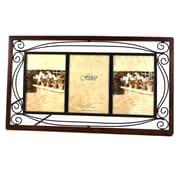 Fetco Home Decor Tuscan Collington Triple Picture Frame