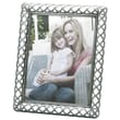 Fetco Home Decor Fashion Metals Claremont Picture Frame; 8 x 10