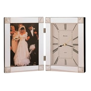Bulova Ceremonial Picture Frame w/ Clock