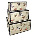 Cheungs Trunks with Butterflies (Set of 3)