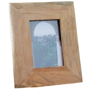 Dekorasyon Reclaimed Wood Picture Frame; Medium