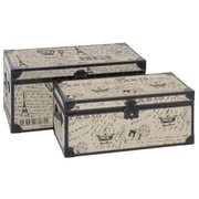 Aspire Paris Script 2 Piece Trunk Set