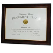 Lawrence Frames Traditional Wood Picture Frame; 8.5'' x 11''