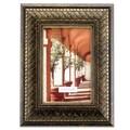 Lawrence Frames Basket Weave Picture Frame; 4'' x 6''