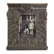 IMAX Hamlin Carved Wood Picture Frame; Large