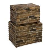 IMAX Moreton Wood Trunk Set