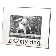 LSC Home ''I Love My Dog'' Picture Frame