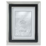 Lawrence Frames Satin Black Inner Panel Metal Picture Frame; 8'' x 10''
